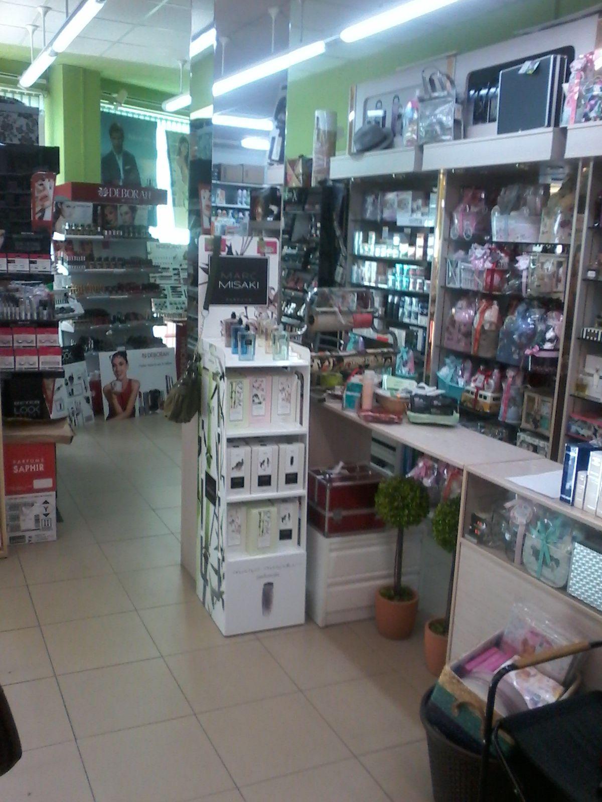 Productos de cosmética en Puebla de Montalbán