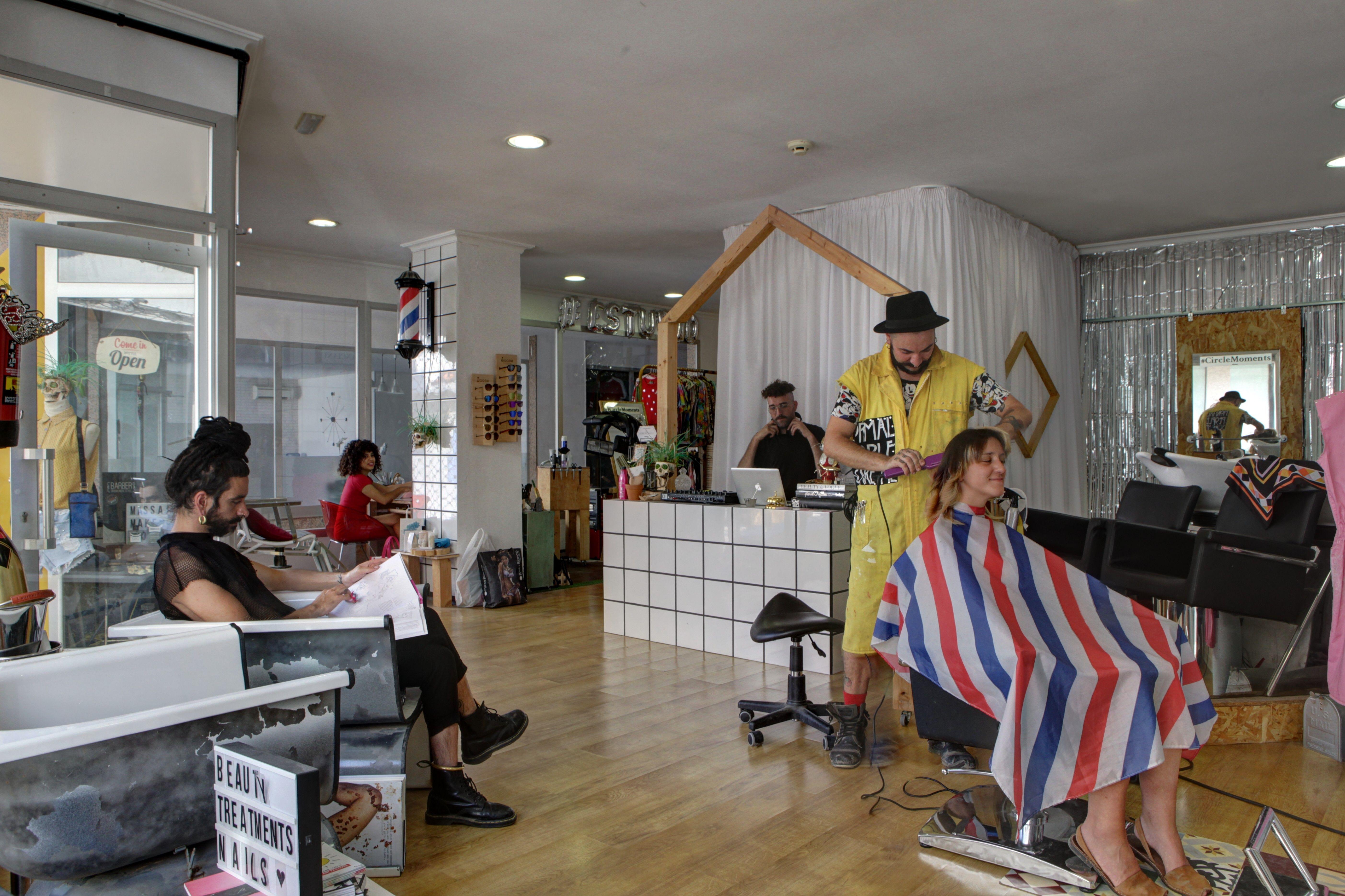 Salón de peluquería ecológico en Ibiza