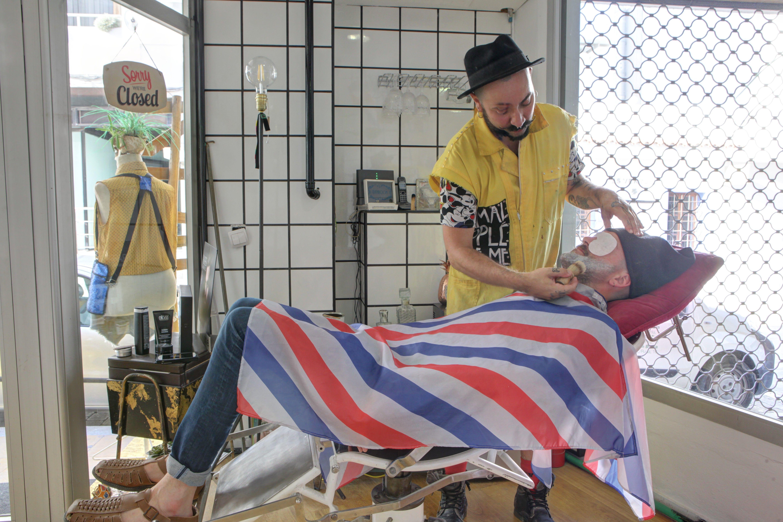 Barbería en Ibiza