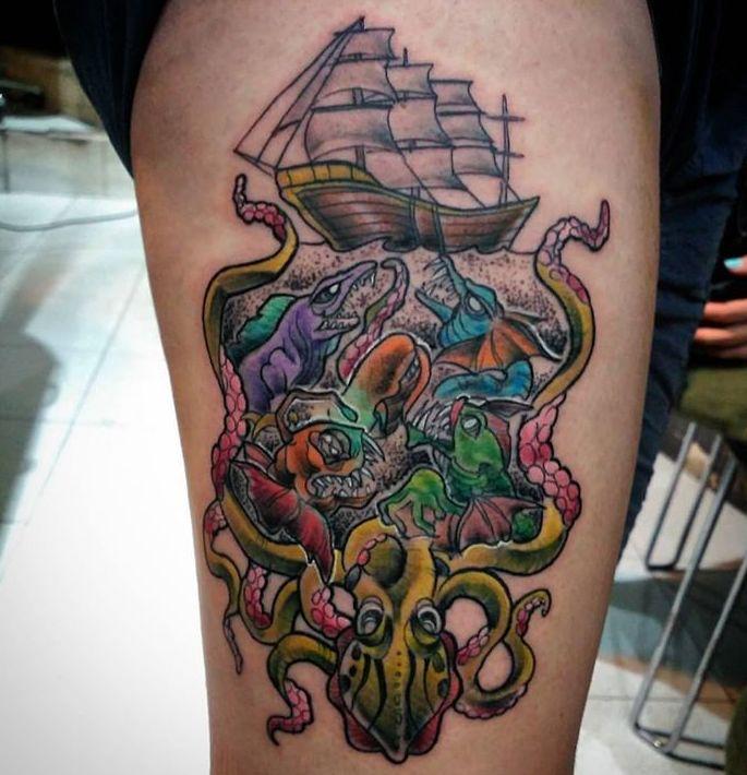 Foto 421 de Tatuajes en Madrid | Circe Tattoo