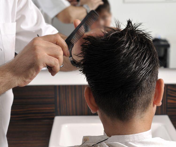 Corte de pelo de caballero en Madrid
