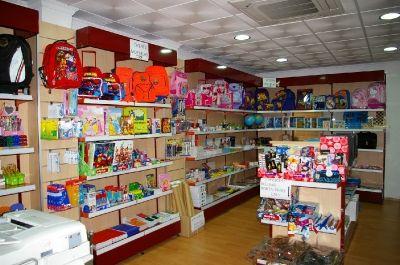 Estanterías para librería en Murcia