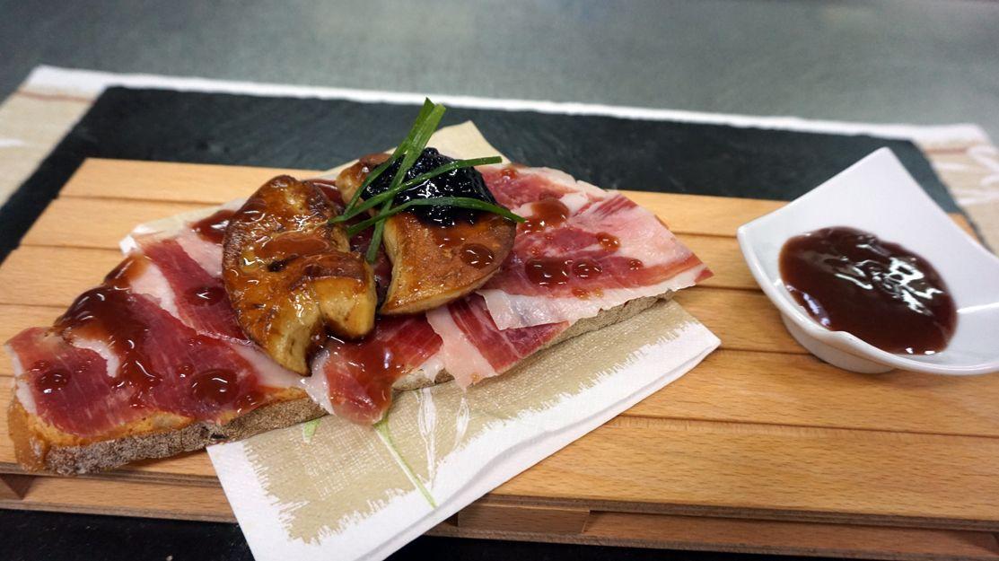 Buena comida en Viana do Bolo, Ourense