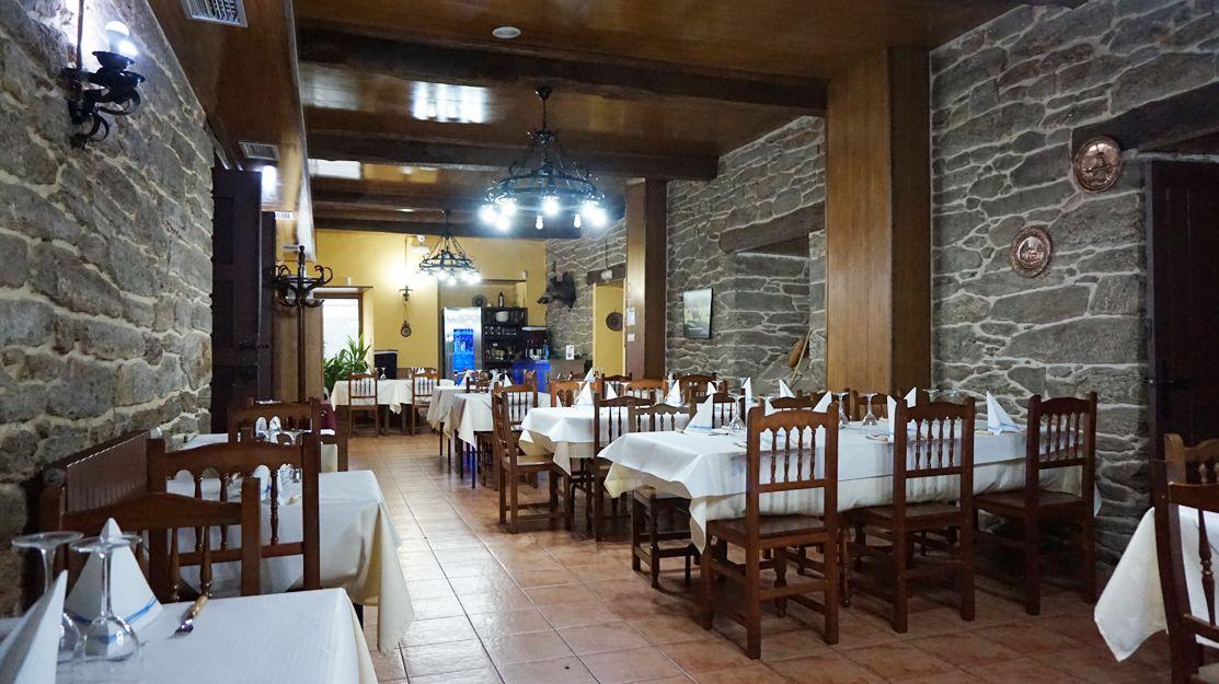 Restaurante A Nosa Casa en Viana do Bolo, Ourense