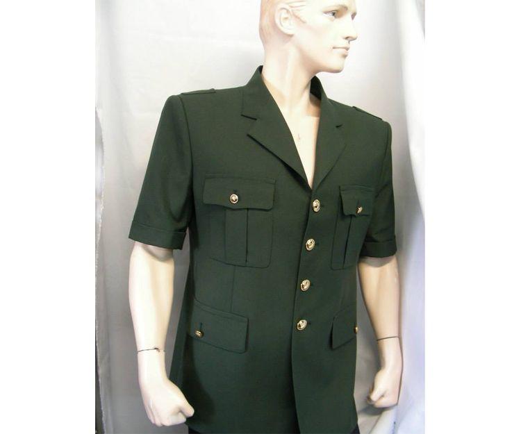 Ejército Guinea Ecuatorial, Fuerzas Terrestres, modelo manga corta,