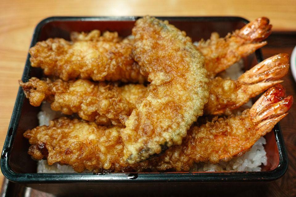 Menú tempura: Menús de Kiniro Sushi