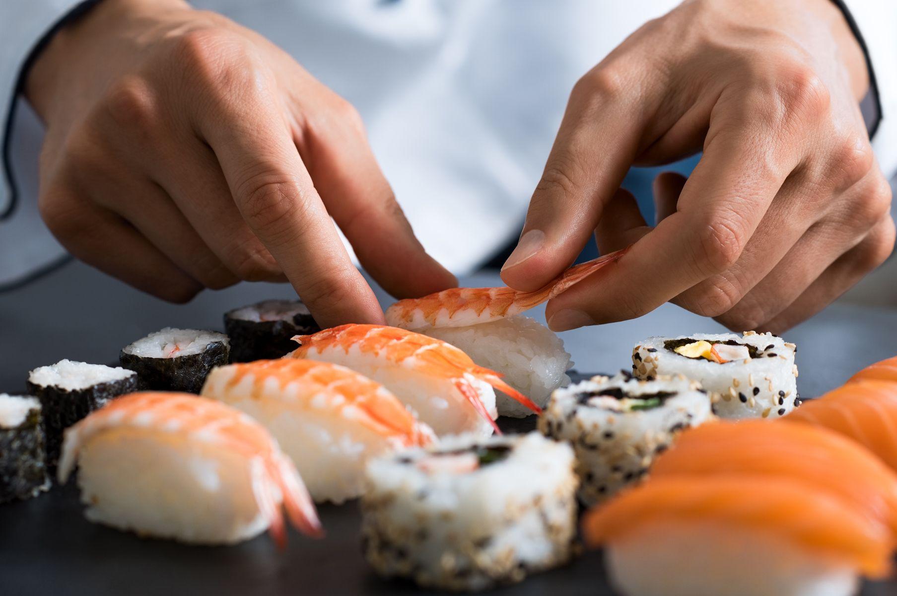 Especialidad en sushi en Barcelona