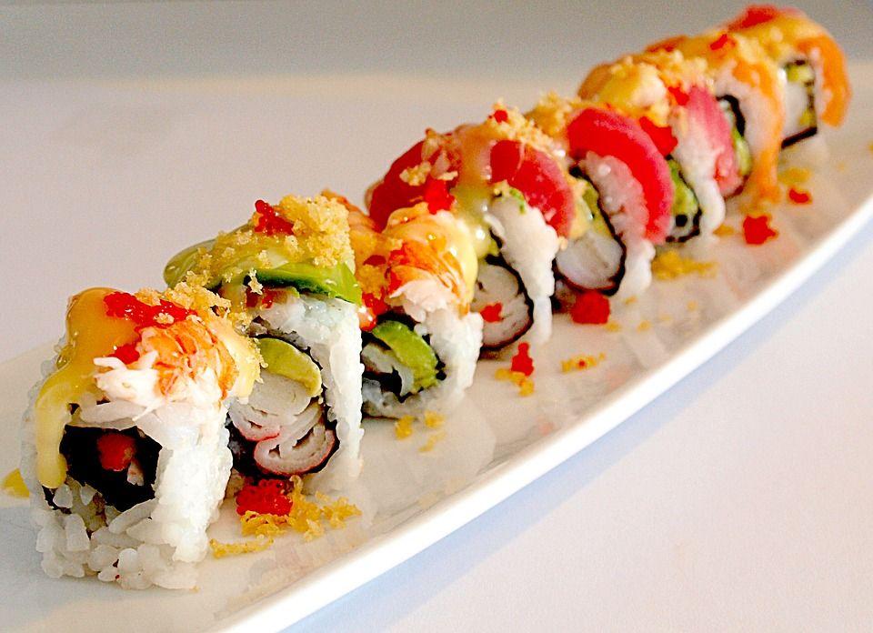 Maki (8 pieza): Menús de Kiniro Sushi