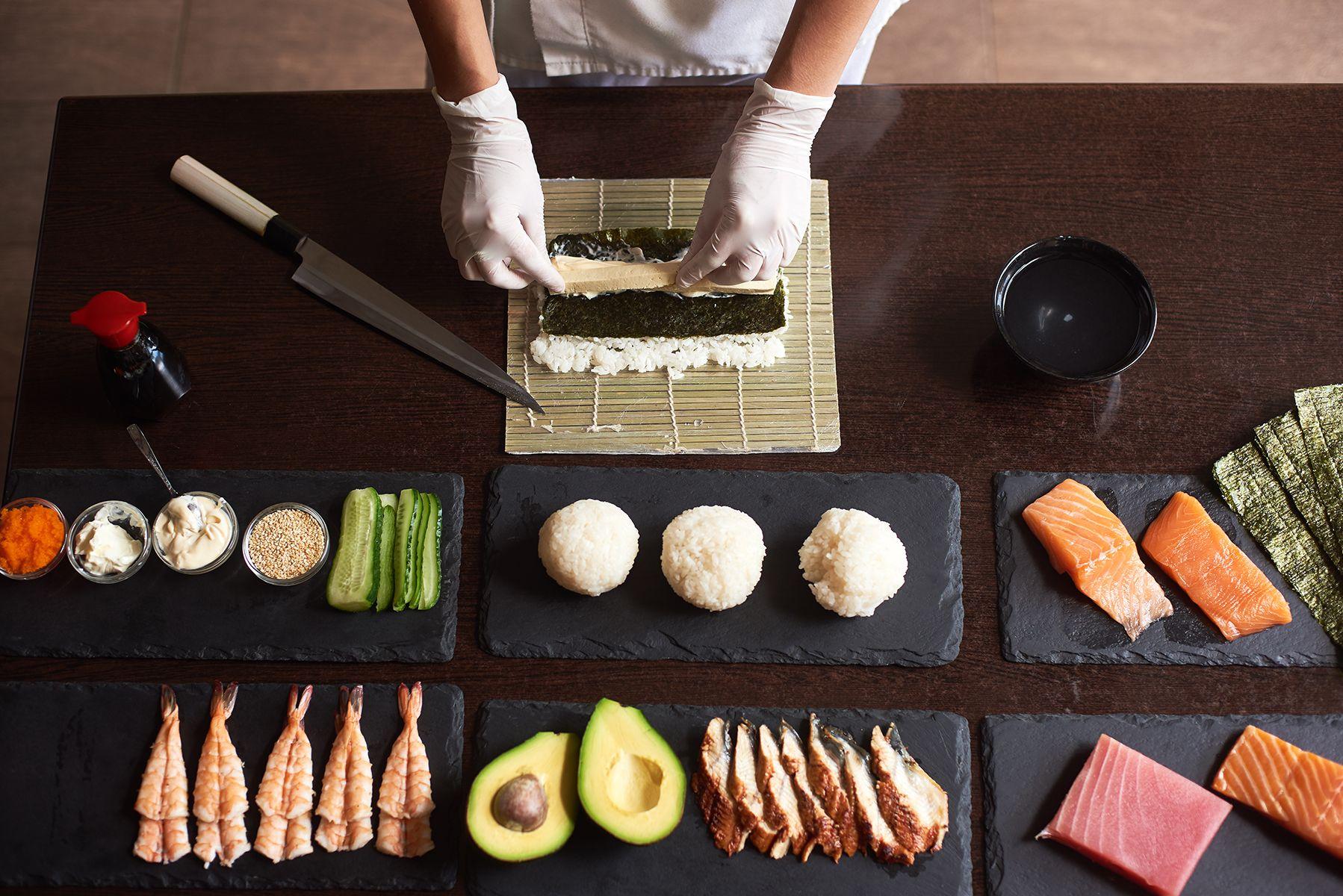 Comer sushi en Sant Andreu, Barcelona