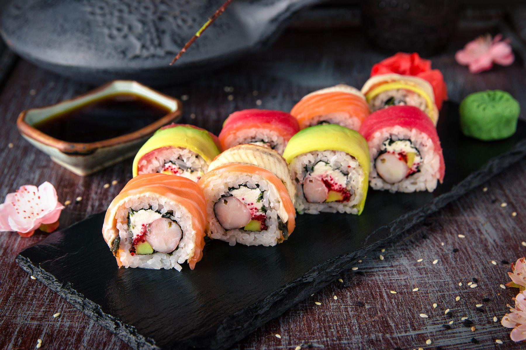 Sushi comida japonesa Sant Andreu Barcelona
