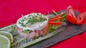 TARTAR DE LANGOSTINO: Menús de Kiniro Sushi