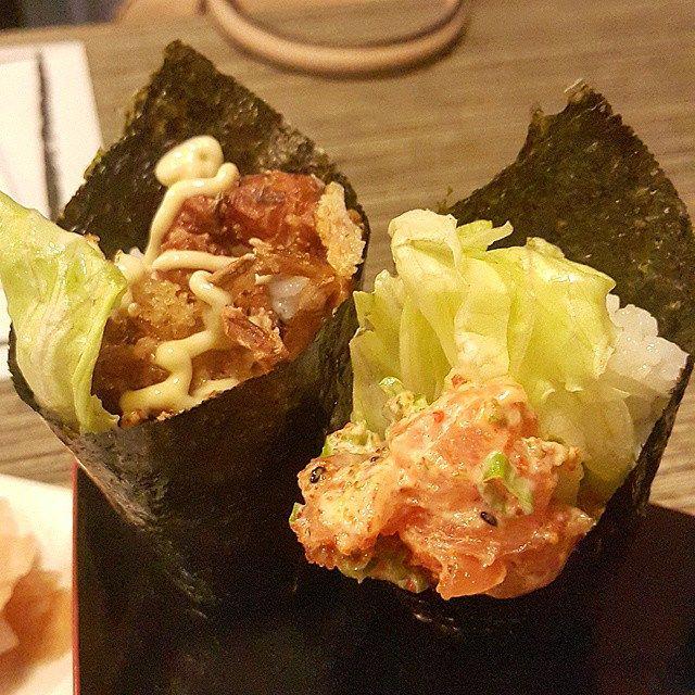 Temaki: Menús de Kiniro Sushi