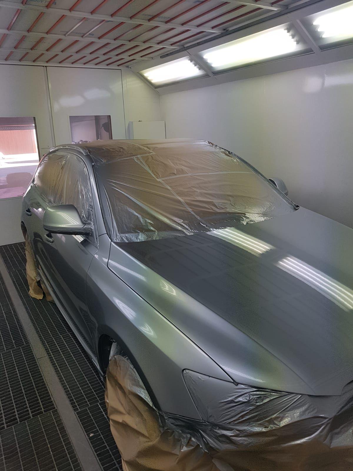 Taller de pintura de coches en Jerez de la Frontera