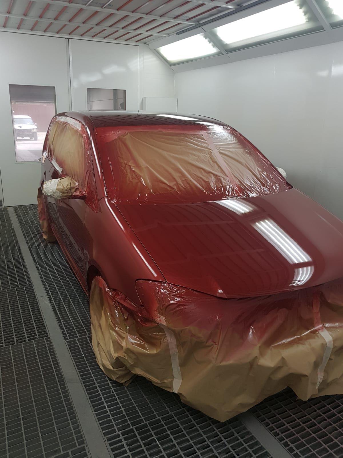 Reparacion chapa y pintura Jerez