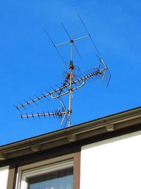 Reparación y mantenimiento de antenas