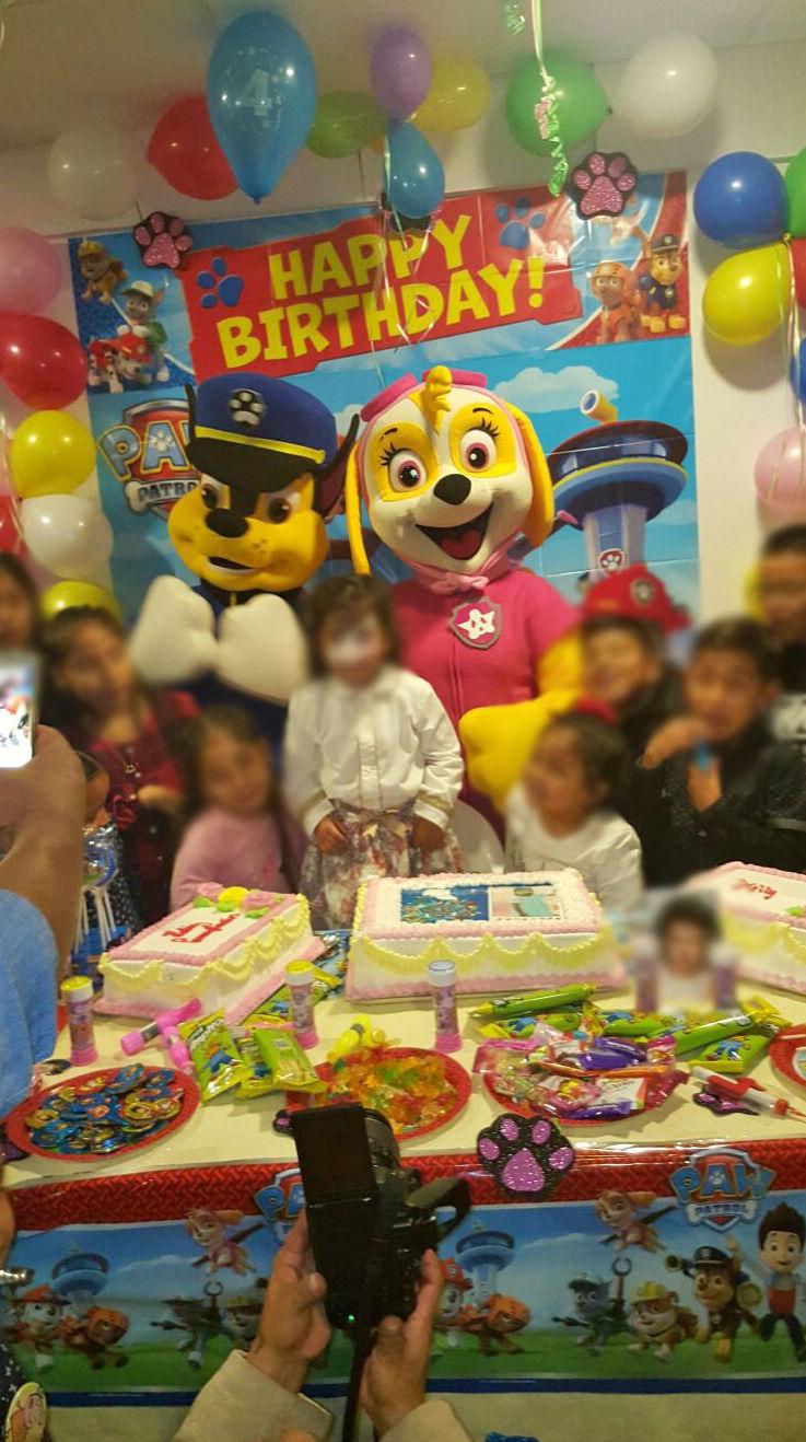 Celebración de cumpleaños en Torrejón de Ardoz