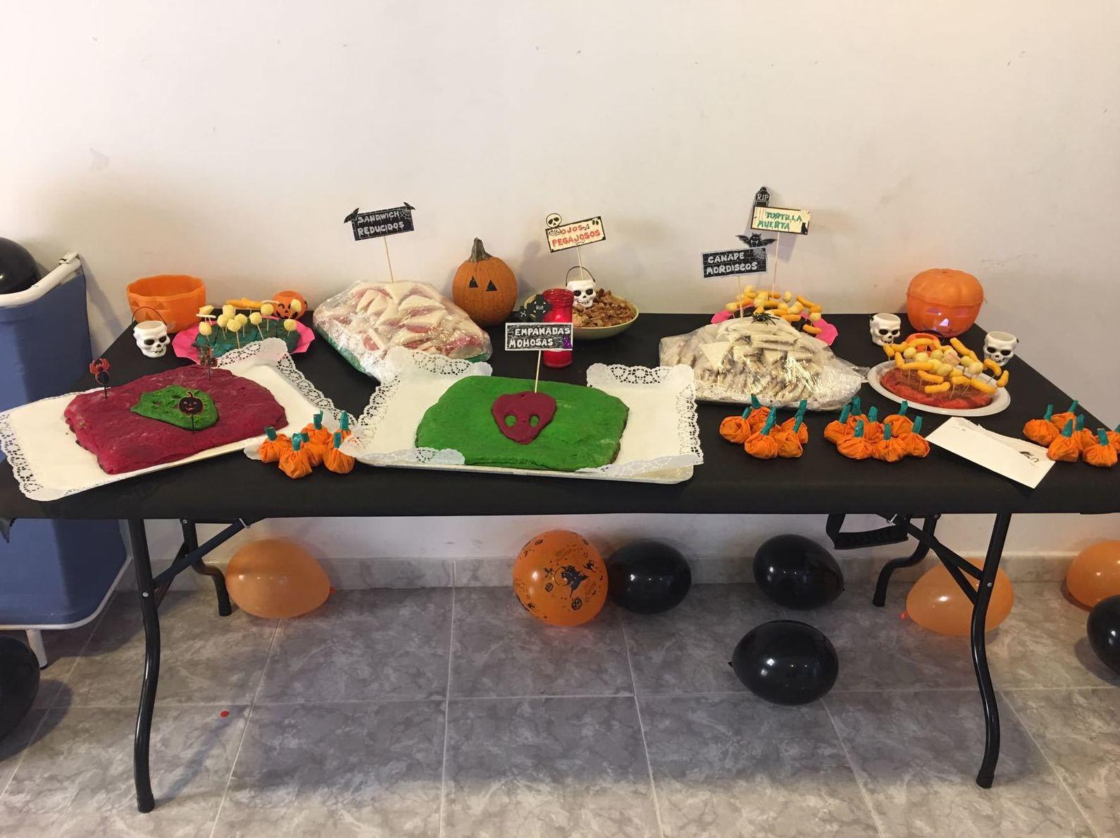 Comida especial Halloween