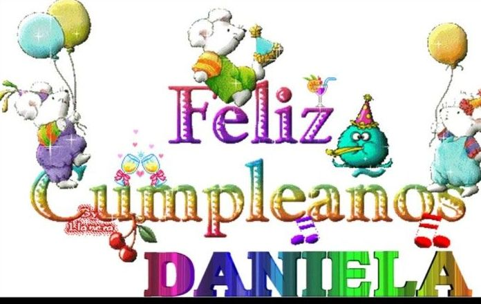 Cumpleaños de Daniela