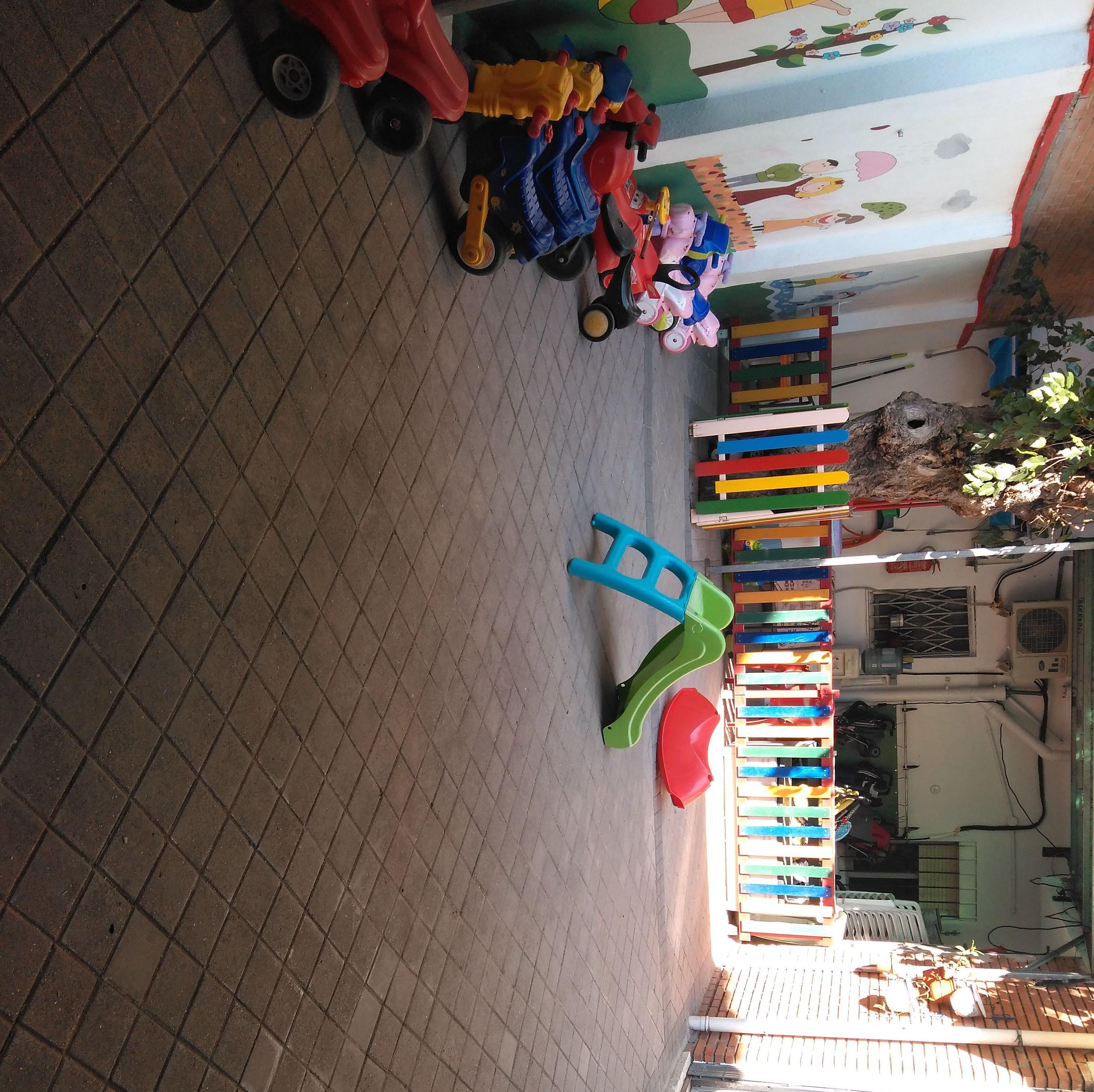 Nuestro patio del cómomola en Torrejón de Ardoz