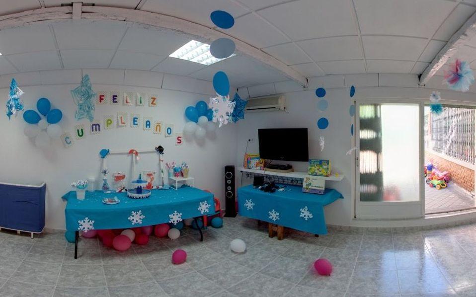 Alquiler de local para cumpleaños en Torrejón