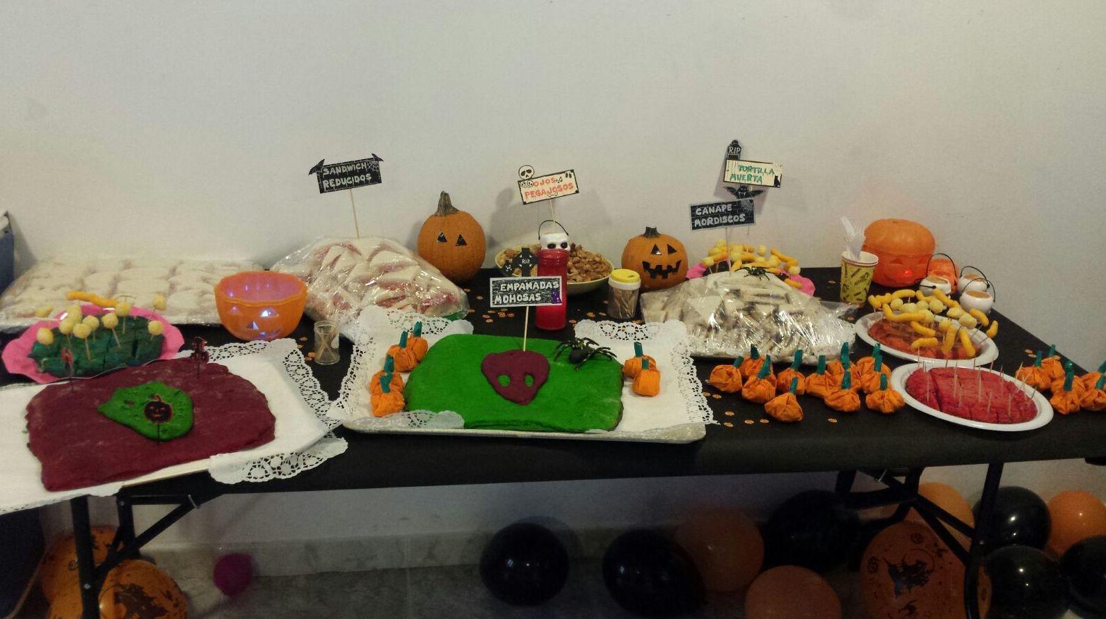 Aperitivos de Halloween