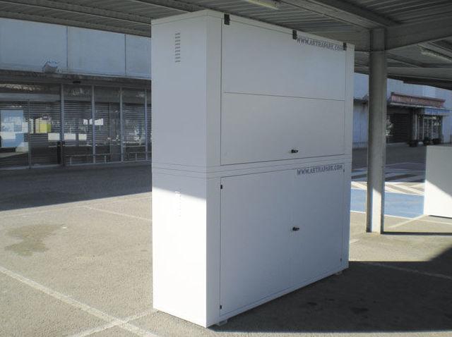 Armarios trastero para plazas de parking tenerife instalados