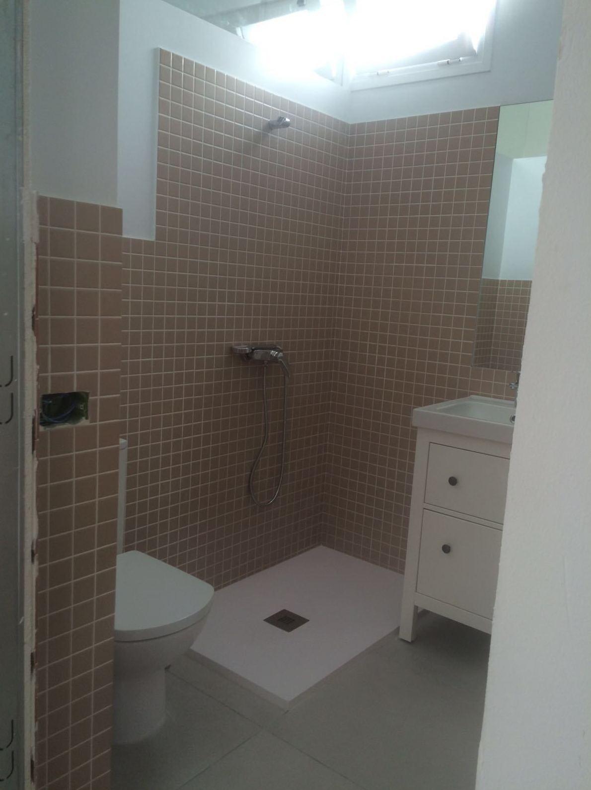 Reforma cuarto de baño en vivienda Santa Cruz de Tenerife