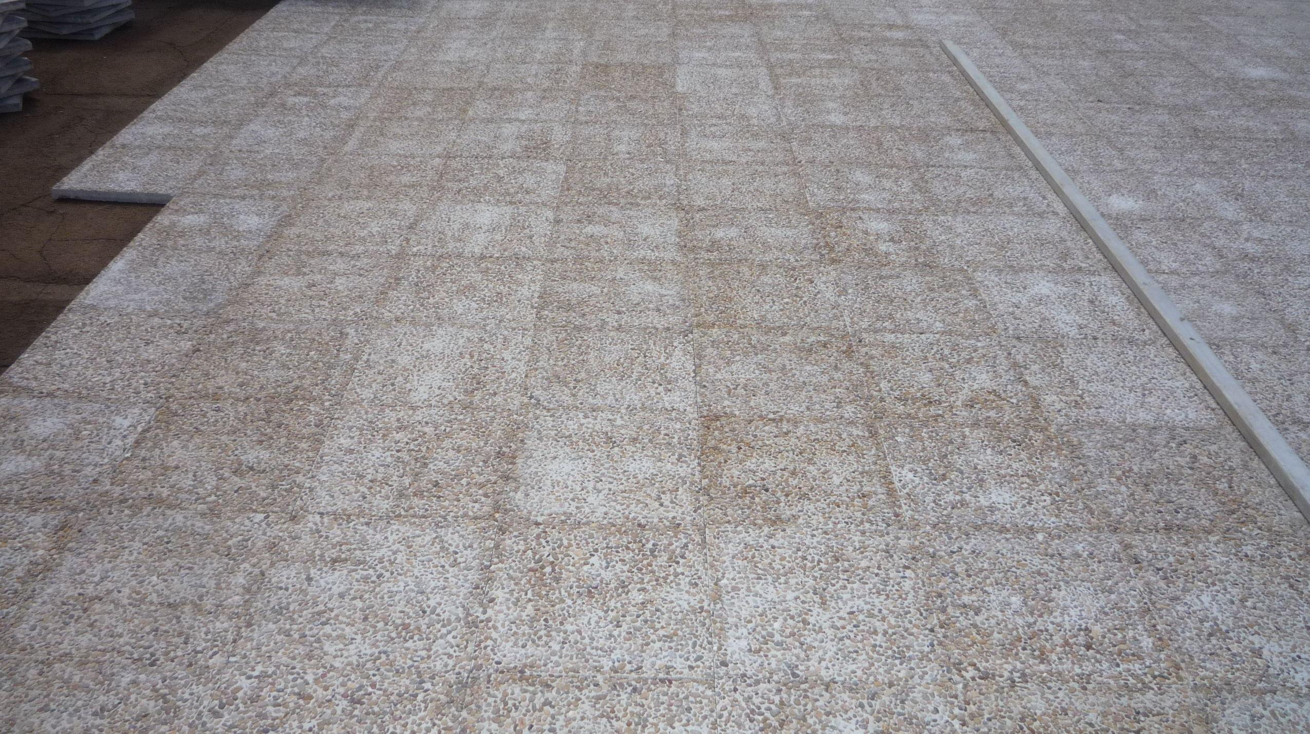 Reforma para colocación pavimento en terraza comunitaria en Puerto de La Cruz. Santa Cruz de Tenerife