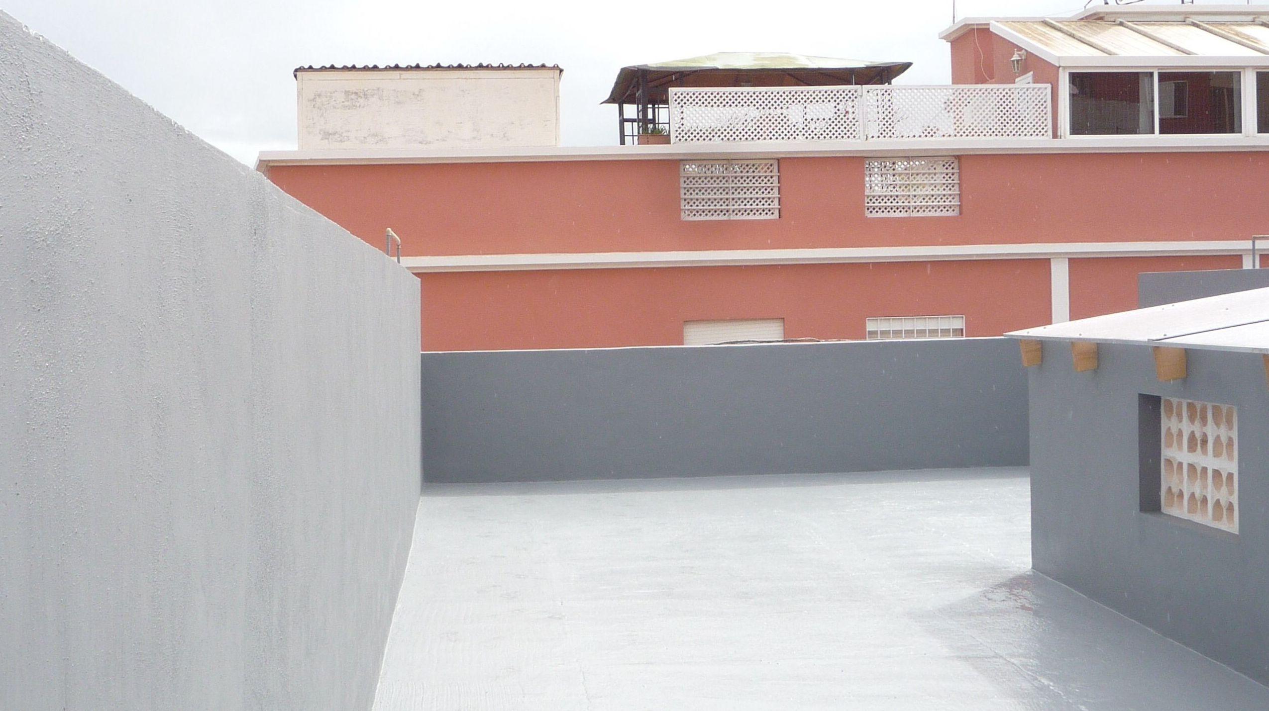 Reforma vivienda en Santa Cruz de Tenerife. Impermeabilización de azotea.