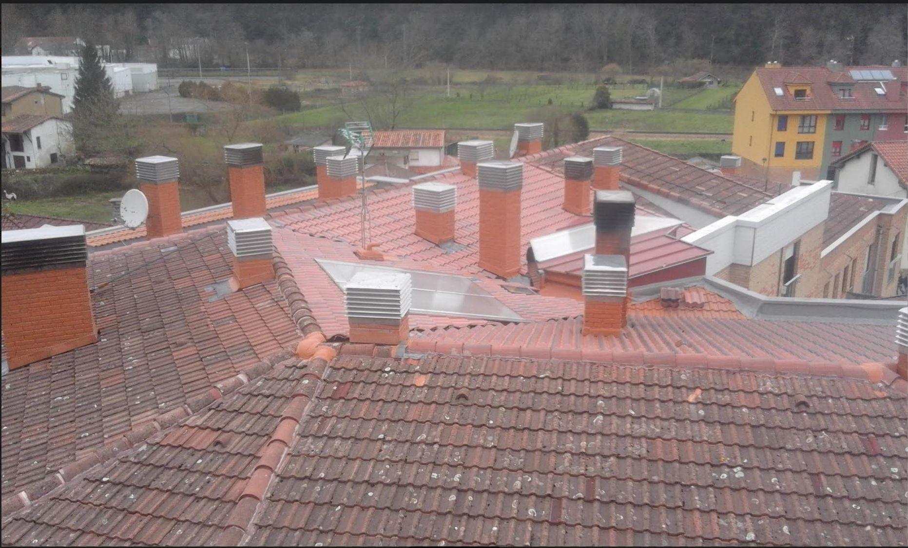 Reformas tejados Asturias
