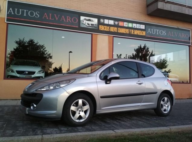 Peugeot 207 1.4 75 cv Xline: Venta de vehículos de ocasión de Autos Alvaro