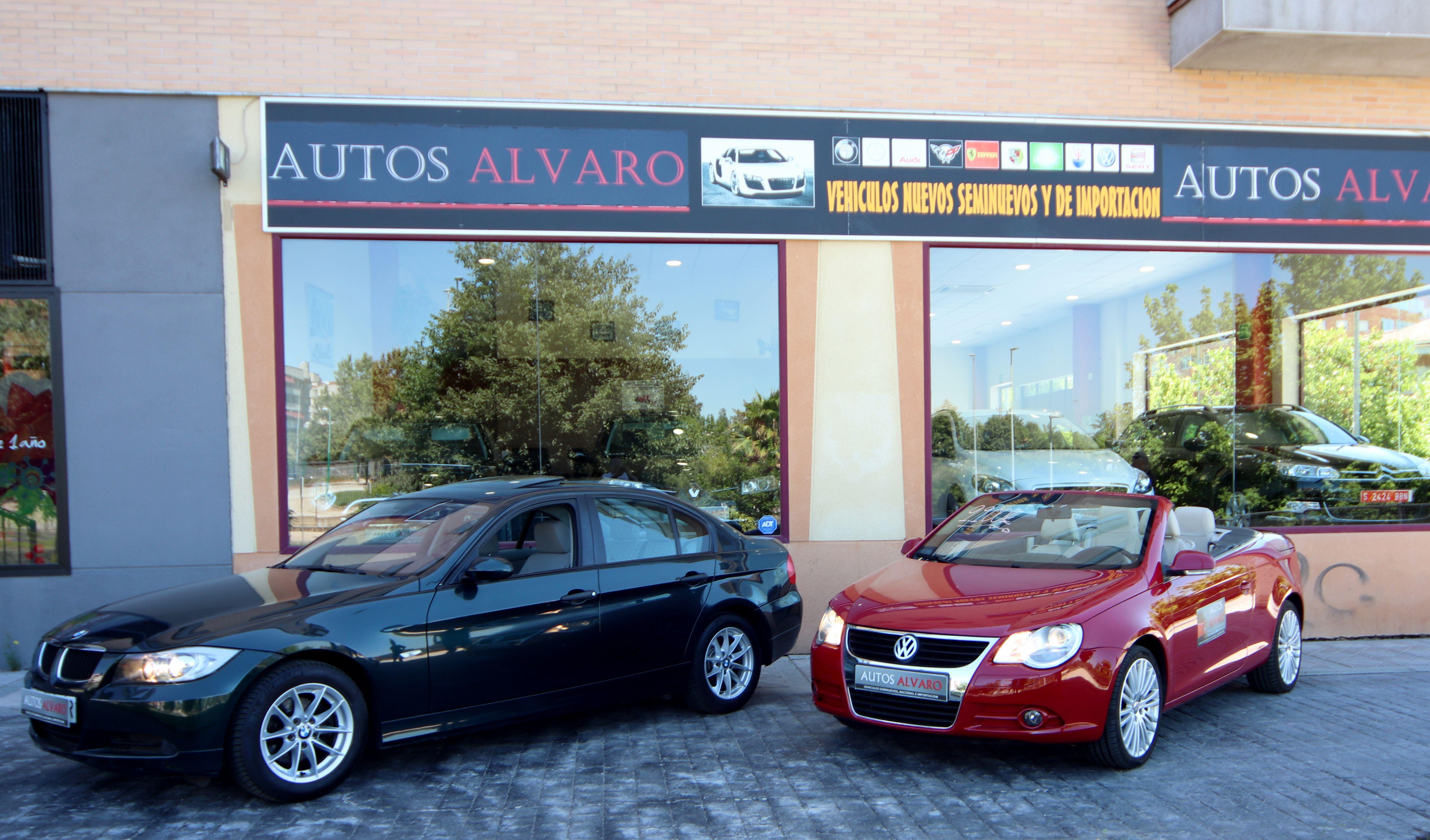 Exposición exterior AUTOS ÁLVARO