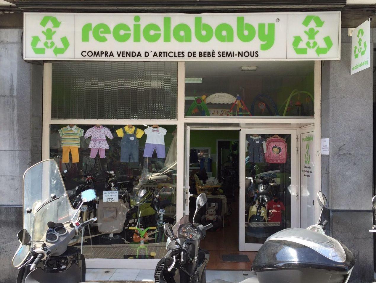 Compra venta de artículos de bebé de segunda mano
