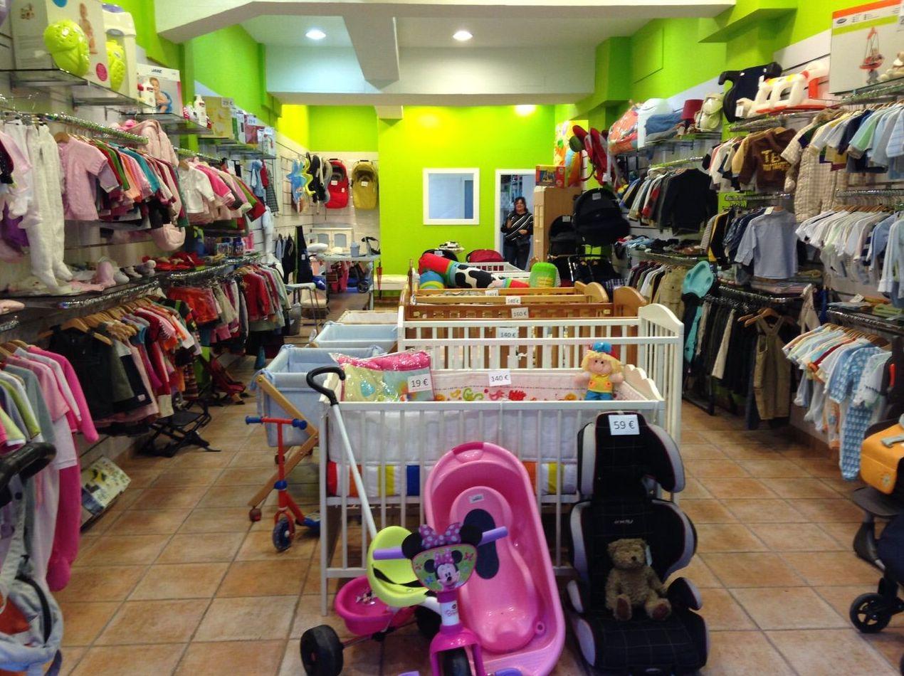 Compra venta de artículos de bebé seminuevos en Barcelona