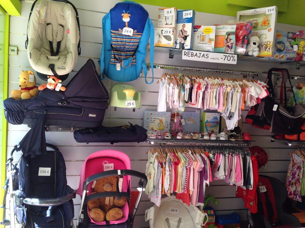 Tienda de artículos de bebé de segunda mano en Santa Coloma de Gramenet