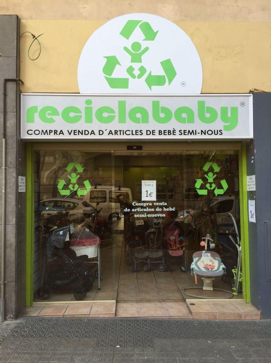 Reciclababy, artículos de bebé seminuevos en Barcelona