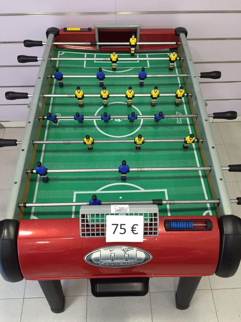 Futbolín N1 de Smoby por 75€!: Catálogo de Reciclababy