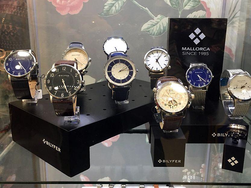 Relojes marca Mallorca y Bilyfer