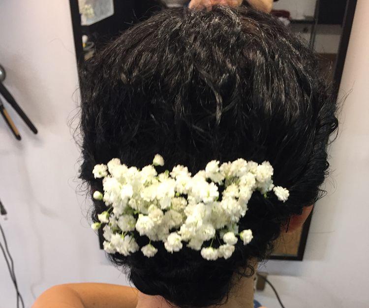 Recogido para novia en Las Palmas de Gran Canaria