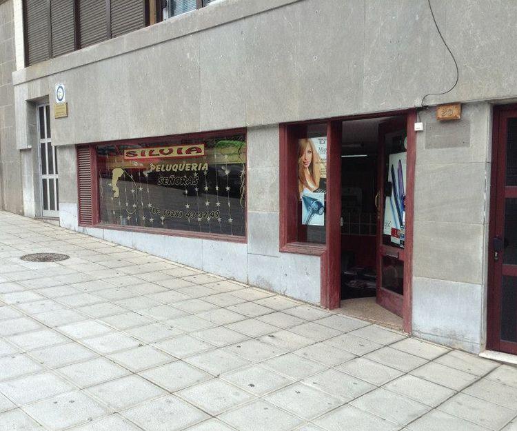 Fachada de la peluquería en Las Palmas de Gran Canaria