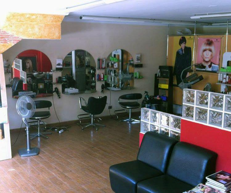 Interior de la peluquería en Las Palmas de Gran Canaria