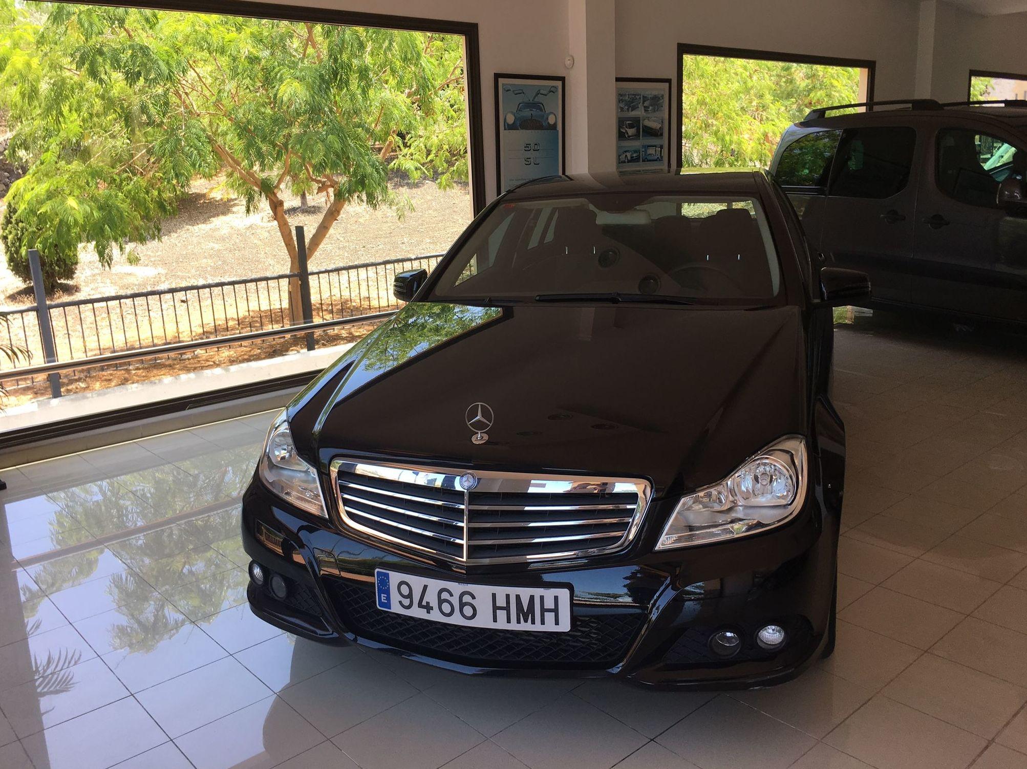 Mercedes Benz C-180-CDI: Coches de B.B.B. Automóviles