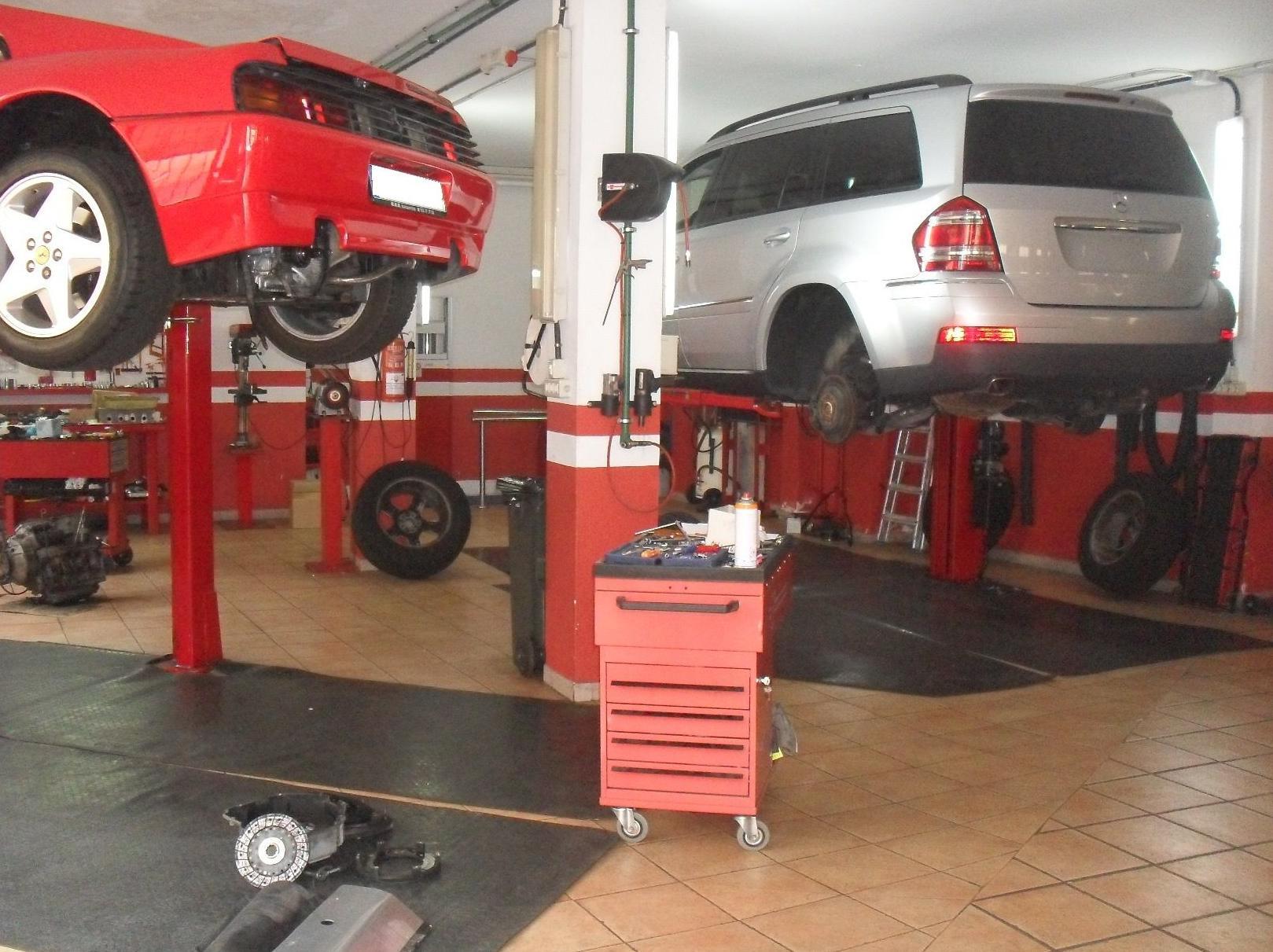 Restauraciones de vehículos. Coches de segunda mano