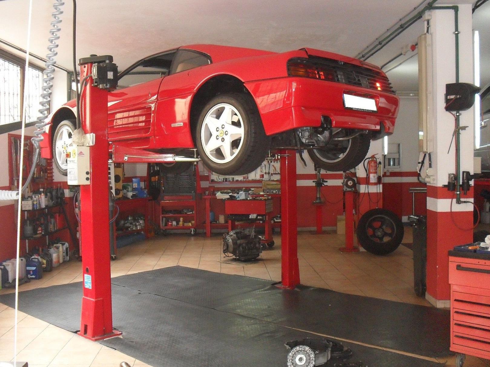 Servicio de taller de mecánica