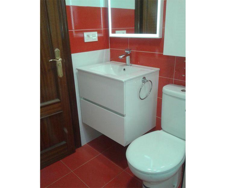 Reforma de baño de Soraya