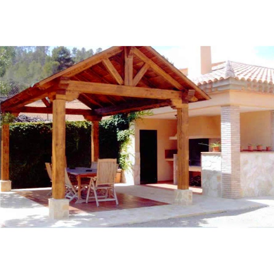 Cenador de madera Cuenca