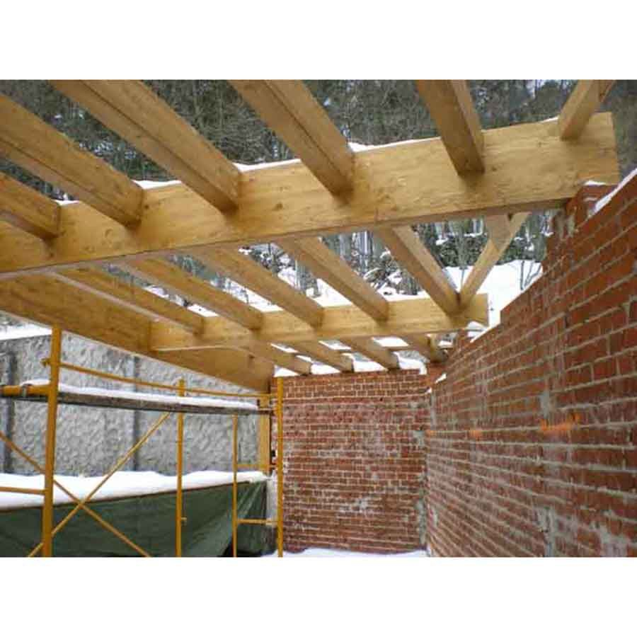 Estructuras de madera laminada