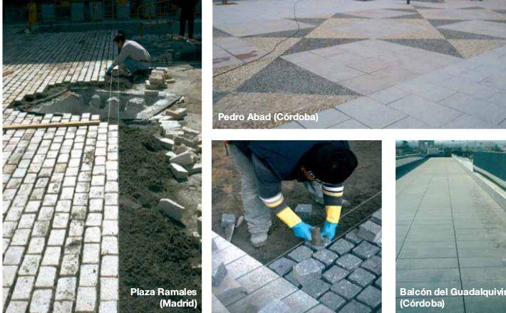 Granitos y pizarras: Servicios de LYA Universal De Solados Construcciones