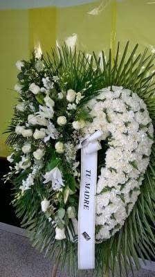 Arte floral funerario en Ourense