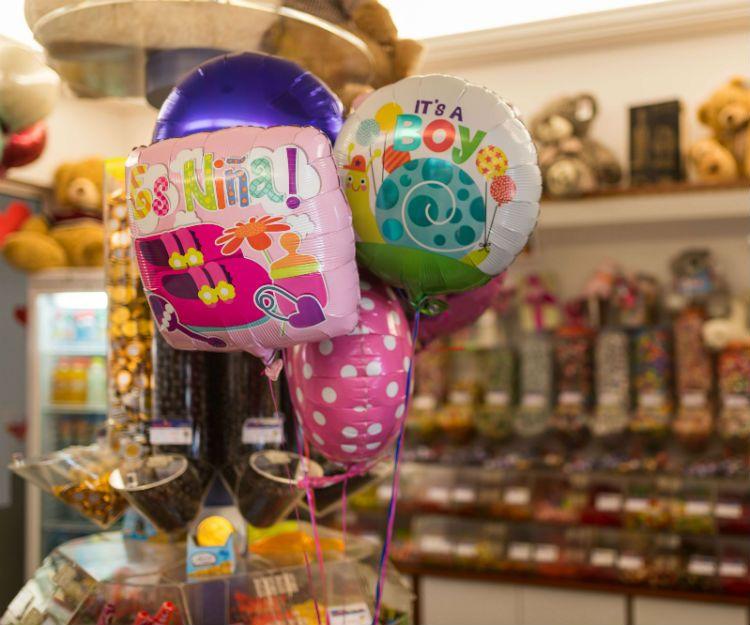 Globos y piñatas en Lanzarote